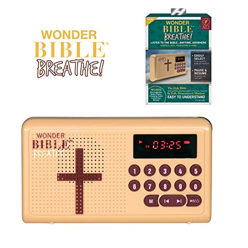 Wonder Bible Breathe- The Audio Bible Player That Speaks, New Living  Translation, As Seen on TV