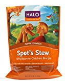 Halo Spot's Stew Natural Dry Dog Food, Puppy, Wholesome Chicken Recipe, 6-Pound Bag, My Pet Supplies