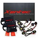 XENTEC H11 (H8/H9) 6000K HID Slim Ballast HID Xenon Kit (Ultra White)