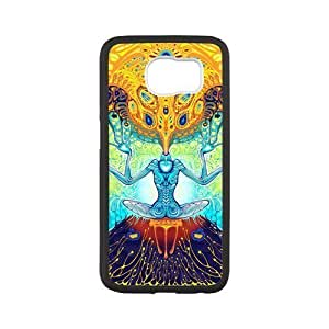 Zyhome Galaxy S6 Jesus Christ Cross Galaxy Nebula Space Series Case Cover for Samsung Galaxy S6 (Laser Technology)