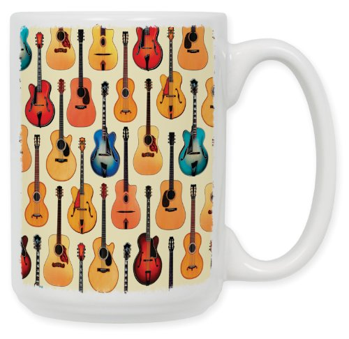 Art Plates Guitars Acoustic Ceramic product image