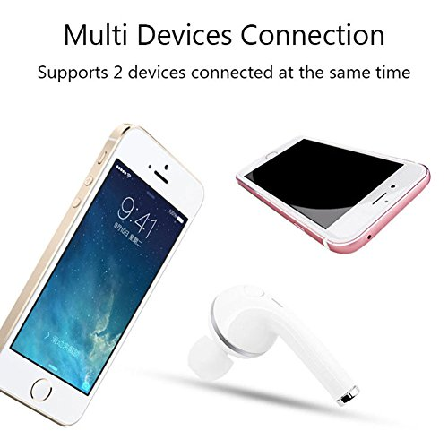 Best Mini Bluetooth Earbud Aimitek V1 Wireless Bluetooth Headset In Ear Earphone Earpiece Invisible Headphone For Apple Iphone 6 6s 7 7s Plus 8 8plus X Android Smartphones Single Right Ear Rose Gold Tecnologiaintegral Educacioncreativa Org