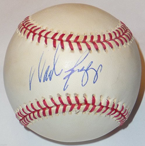 (WADE BOGGS SIGNED VINTAGE OAL BASE BALL BOSTON RED SOX NY YANKEES DEVIL RAYS JSA)