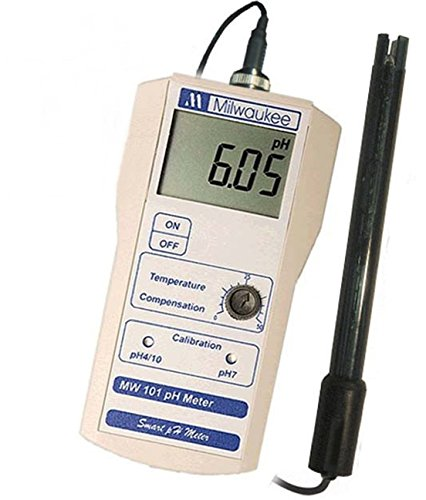 Smart Portable pH Tester Meter Large Easy to Read Display Earthenware Server