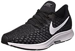 Nike Air Zoom Pegasus 35 Women's Running Shoe has been re-imagined to look as fast as it feels. A full-length Zoom Air unit and beveled heel work together for optimal responsiveness, while engineered mesh and Flywire cables lock you down for ...