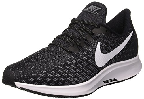 Nike Women's Air Zoom Pegasus 35 Running Shoe, 942855 (9 B(M) US, Black/Gunsmoke/Oil - Extra Shoes Wide