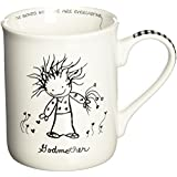 Children of the Inner Light 62092 CHOIL Mug Godmother, Black and White