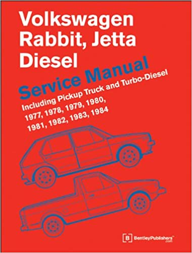 Volkswagen Rabbit, Jetta A1 Diesel Service Manual 1977, 1978, 1979, 1980, 1981, 1982, 1984, 1984: Including Pickup Truck and Turbo Diesel: Amazon.es: ...