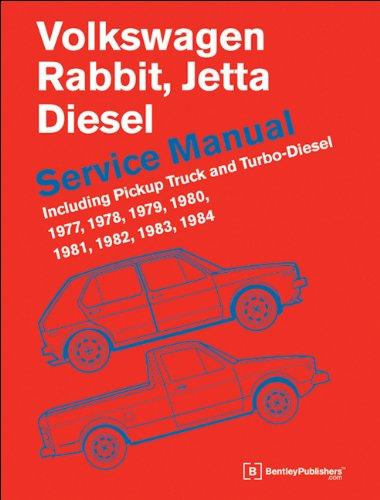 Volkswagen Rabbit, Jetta (A1) Diesel Service Manual: 1977, 1978, 1979, 1980, 1981, 1982, 1984, 1984 ()