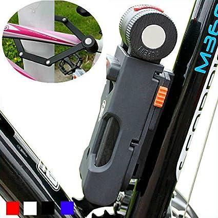 Bazaar Foldable Bicycle Lock Anti Theft Hydraulic Shear 6 Fold Bike