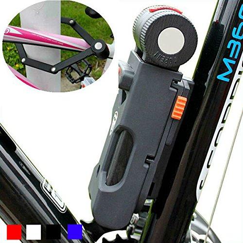 Bazaar Antivol de serrure de bicyclette foldable cisaille antihydraulique 6 vélo de pli