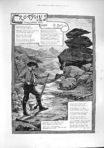 SIERRAS 1887 DE LA SERPIENTE DEL TRAQUETEO DEL CROTALUS DE LA HISTORIA DEL EJEMPLO
