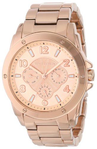 Vince Camuto Women's VC/5042RGRG Rose Gold-Tone Watch