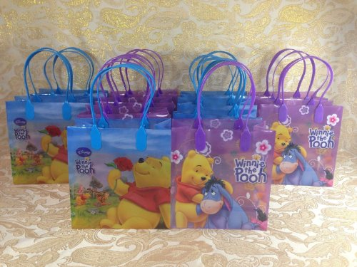 (Winnie the Pooh Small Party Favor Goody Bags 36x)