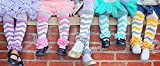 Baby Chevron Ruffled Leg Warmers