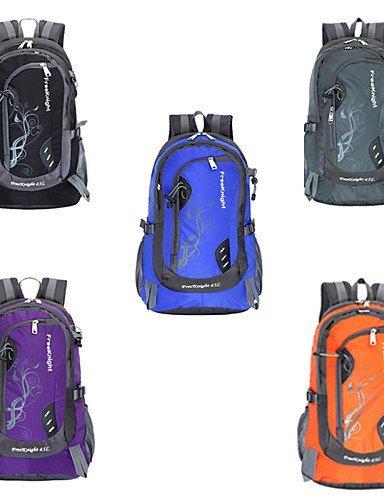 GXS Tourenrucksäcke/Wandern Tagesrucksäcke/Radfahren Rucksack/Travel Organizer ( Grau/Schwarz/Blau/Purpur/Orange , 45 L) Wasserdicht/Schnell