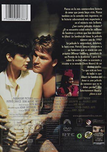 Ghost La Sombra Del Amor Dvd Ghost Dvd Mx Películas Y Series De Tv