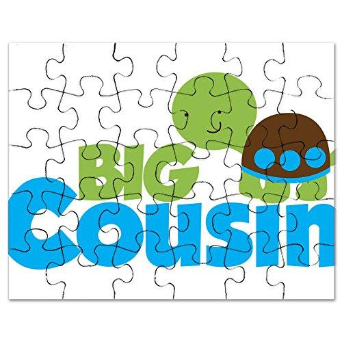 CafePress - Boy Turtle Big Cousin - Jigsaw Puzzle, 30 pcs.
