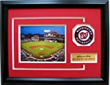 CGI Sports Memories Nationals Ballpark Washington Nationals Photo Frame with 3D Double Mat