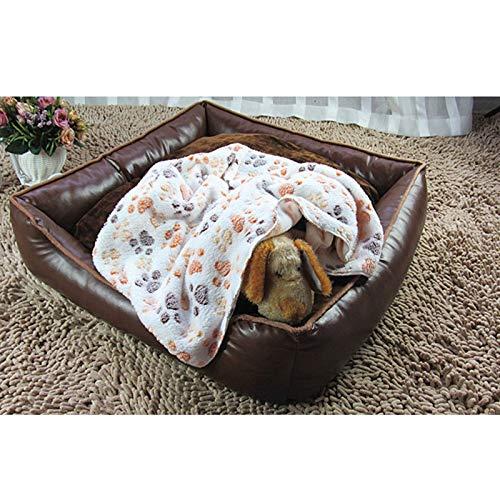 Wicemoon - Manta para perro, manta cálida y gruesa, muy suave y esponjosa, manta para perro, gato o cachorro 60*40cm: Amazon.es: Productos para mascotas