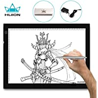 Huion A4 Tracing Light Box AC Powered with Adjustable Light Intensity (14.17-by-10.63 Inch)
