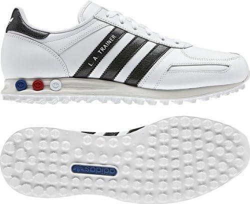 bala collar Ocho  Adidas LA Trainer Originals Mens Casual Shoes White/Black Size 9 UK:  Amazon.co.uk: Shoes & Bags
