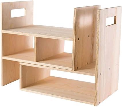 Organizador escritorio Natural color de escritorio de madera ...