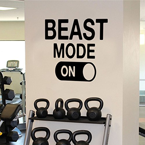 Top 10 recommendation gym quotes wall decal for 2019