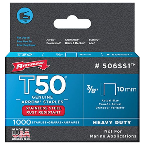 arrow-fastener-506ss1-3-8-inch-genuine-t50-stainless-steel-staples-1000-pack