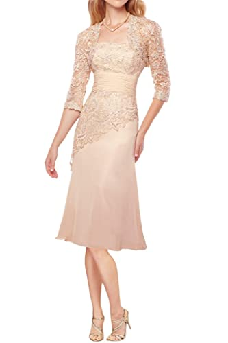 Audrey Bride Floral Formal Mother of the Bride Dresses for Woman with Jacket