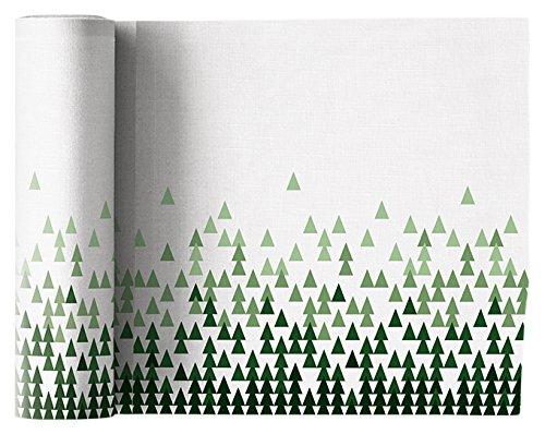MYdrap SLA20N1/101-7 Linen Printed Luncheon Napkin, 8.0'' x 8.0''-12 units per roll, X-Mas Tree by MYdrap