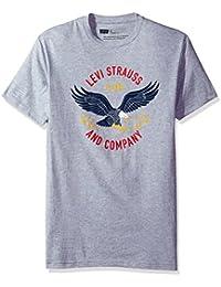 Levi's Men's Fakir T-Shirt with Eagle Graphic