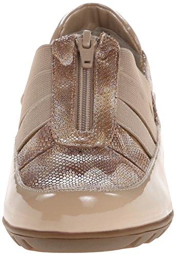 Femmes Plates Patent Ecru Vaneli Chaussures Ferns 0nSqw4nTx
