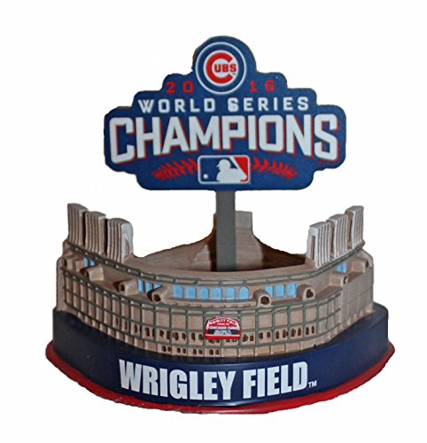 Forever Collectibles Wrigley Field Replica Stadium Chicago Cubs 2016 World Series MLB ()