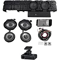 JBL Front+Rear Speakers+Amplifier+(2) 8 Subwoofers For 15-17 Ford F150+Dash Cam