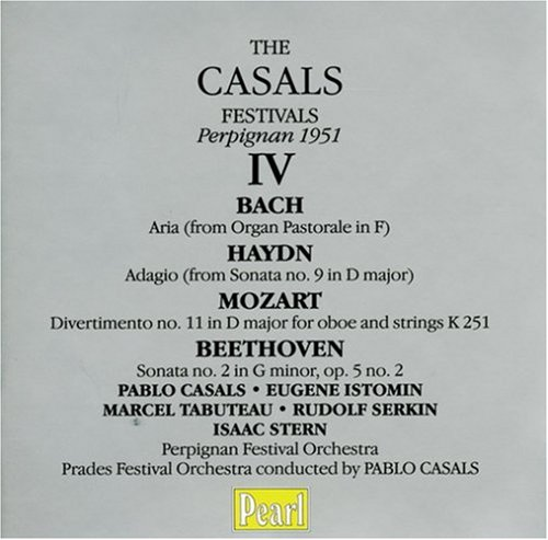 Casals Festivals IV (1951) by Pearl