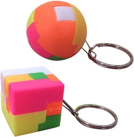 Egosy Puzzle Colgante de plástico con Forma de balón de fútbol ...