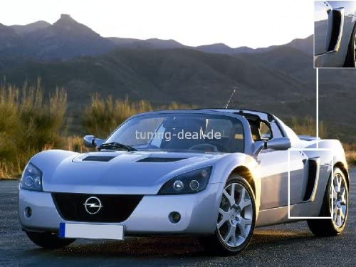 Opel Speedster Prese Daria Turbo Palco Laterale
