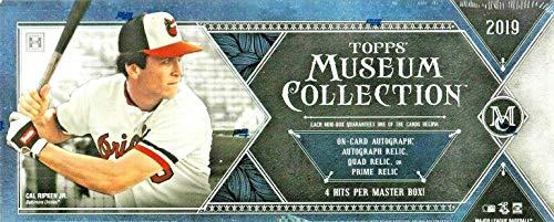 2019 Topps Museum Collection MLB Baseball HOBBY box (FOUR 5-card mini boxes w/ONE hit per mini box)