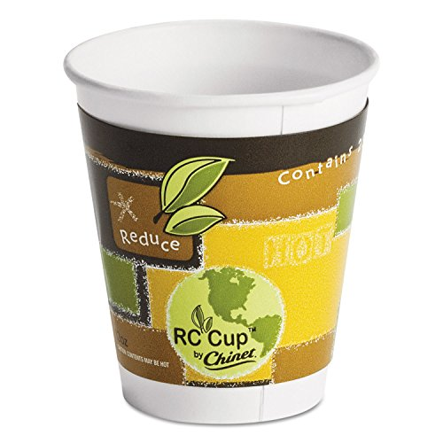 Comf Ppr Hot Cup 12Oz Insul Recyc Design -