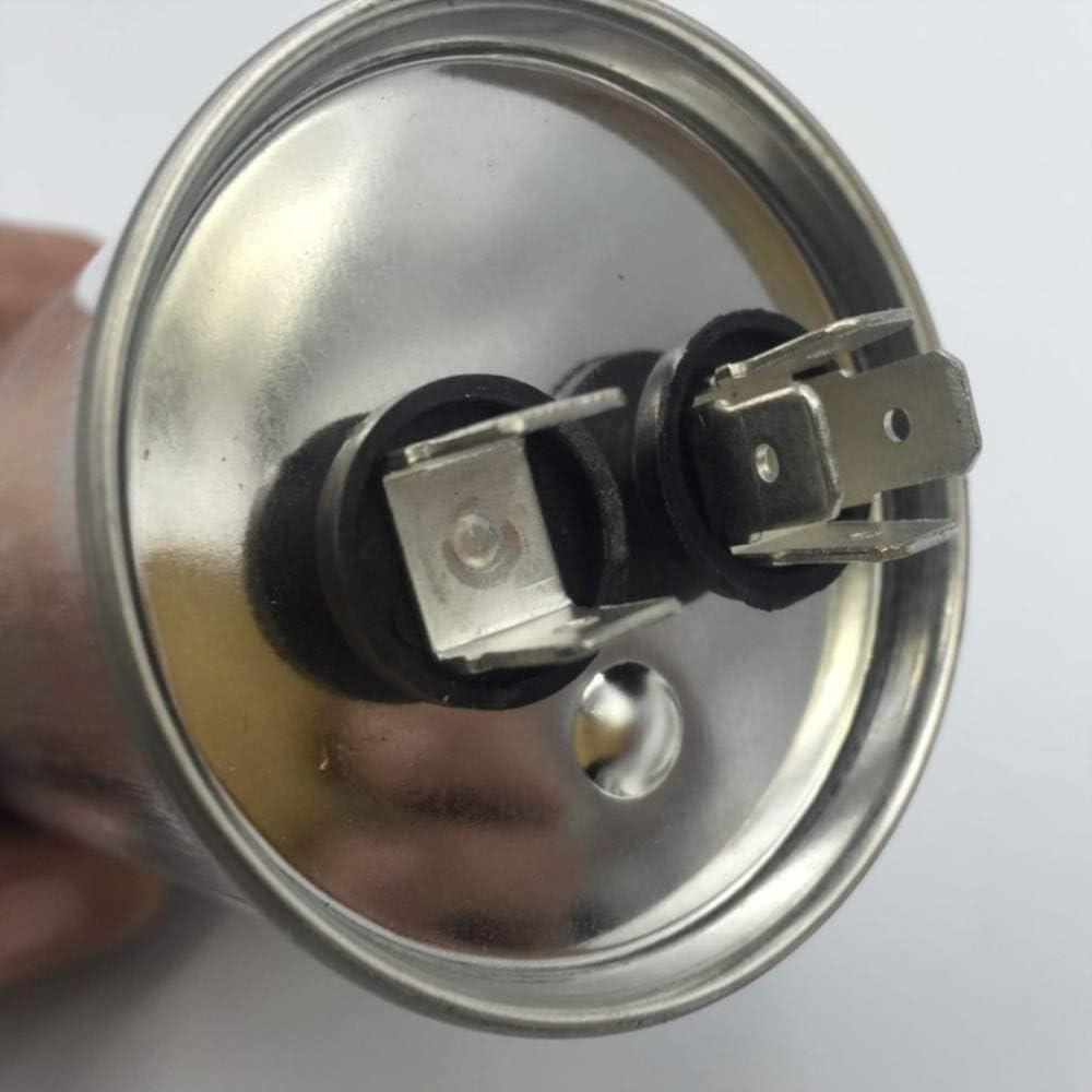 Wnuanjun Condensateur CBB65 450VAC 60uF de d/émarrage de compresseur de climatiseur de moteur /à courant alternatif