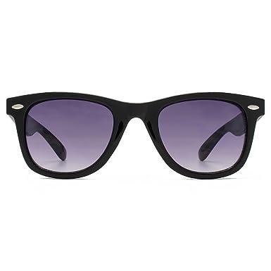 1cc65e5abd92 M:UK Brixton Wayfarer Style Sunglasses in Black MUK147832: Amazon.co.uk:  Clothing