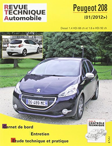 Rta b787 Peugeot 208 2012-03-> for sale  Delivered anywhere in USA