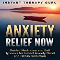 Anxiety Relief Now: Guided Meditation and Self Hypnosis for Instant Anxiety Relief and Stress Reduction Speech by  Instant Therapy Guru Narrated by  Instant Therapy Guru