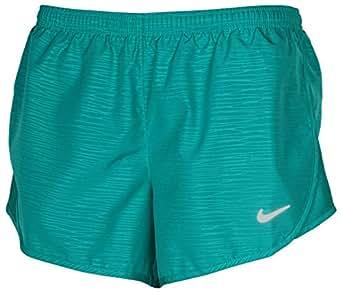 Nike Womens 3 Tempo Modern Embossed Running Shorts (Small)