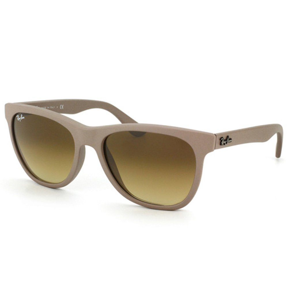 5ccf70c6839 Amazon.com  Ray-Ban RB4184 - MATTE BEIGE Frame BROWN GRADIENT Lenses 54mm  Non-Polarized  Clothing