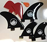 Liquid Force Surf Fin Complete Kit Small