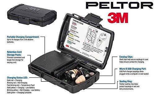 3M PELTOR TEP-100 Tactical Digital Earplug Kit by Peltor/3M