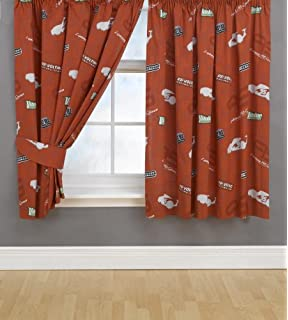 Curtains Ideas 140 Inch Curtains : Disney Cars McQueen Childrens Bedroom  Polyester Pair Of Blackout .