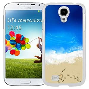 New Beautiful Custom Designed Cover Case For Samsung Galaxy S4 I9500 i337 M919 i545 r970 l720 With Love In Beach (2) Phone Case